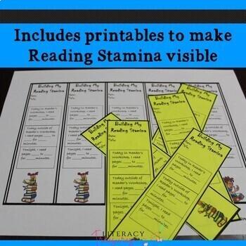 Building Reading Stamina -- Making Stamina Growth Visible