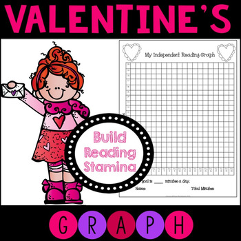 Building Reading Stamina Graphs for February and Valentine's Day
