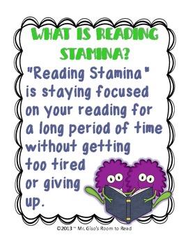 Building Reading Stamina Visuals