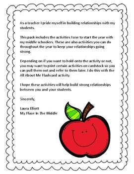 Building Relationships Pack