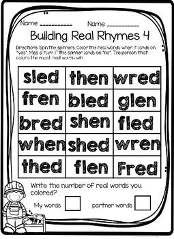 Building Rhymes