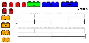 Building Rhythms with Legos!