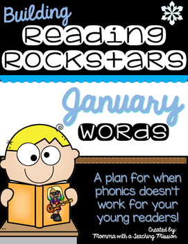 Building Rockin' Readers A Reading Plan & Activities January
