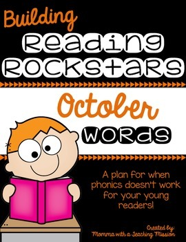Building Rockin' Readers A Reading Plan & Activities October