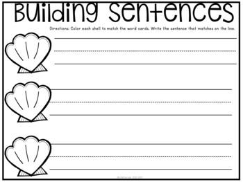 Building Sentences 2 {A Let's Get Writing Center}