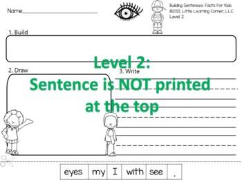 Building Sentences 5 Senses
