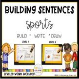 Building Sentences: Sports Writing Center