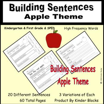 Building Sentences - Apples Edition
