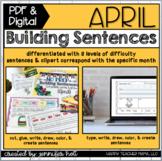 Building Sentences (April Edition) | PDF & DIGITAL for Dis