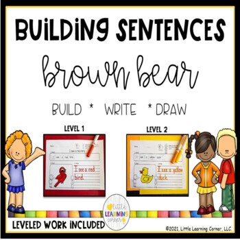 Building Sentences ~ Brown Bear, Brown Bear