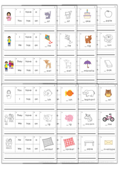 Building Sentences Bundle