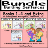Building Sentences Bundle For Kindergarten and First Grade