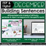 Building Sentences {December Edition}