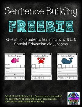 Building Sentences FREEBIE