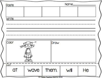 Building Sentences {February Edition}