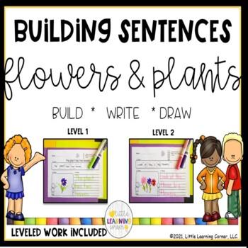 Building Sentences Flowers and Plants