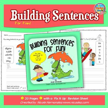 Sentence Building for Fun