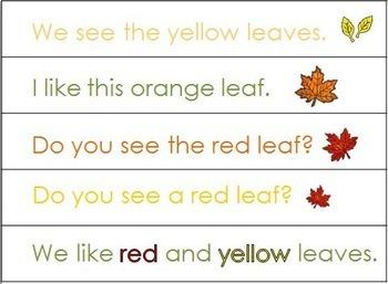 Fall Sentences