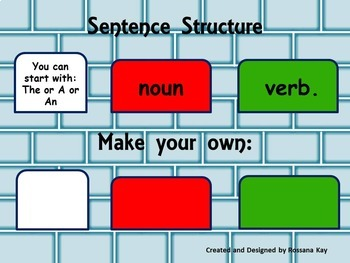 Building Sentences - Hands-on!