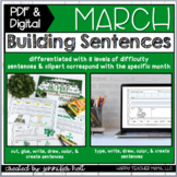 Building Sentences {March Edition}