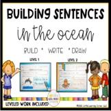 Building Sentences ~ Ocean ~ A non-fiction writing center
