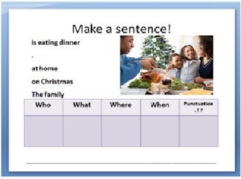 Building Sentences Powerpoint