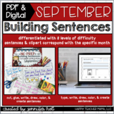 Building Sentences {September Edition}