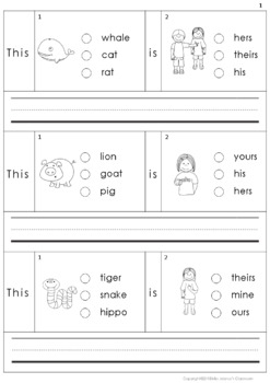 Building Sentences Set III