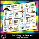 Sentence Building - Silly Sentences