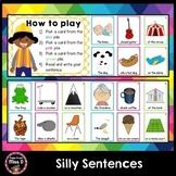 Building Sentences Silly Sentence