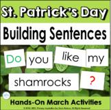 Building Sentences: St. Patrick's Day