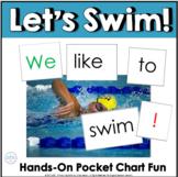 Building Sentences at the Pocket Chart: Summer Swimming Fun