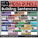 Building Sentences (10 Month Bundle)   PDF & DIGITAL for D
