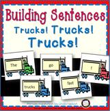 Trucks Building Sentences
