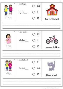 Building Sentences VII