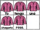 Building Sentences WINTER SPANISH