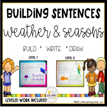Building Sentences Weather and Seasons