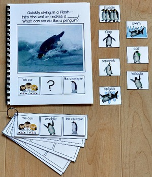 """Building Sentences--""""What Can We Do Like a Penguin?"""""""