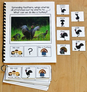 "Building Sentences--""What Can We Do Like a Turkey?"""