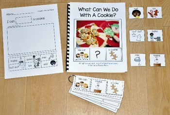 Building Sentences:  What Can We Do With A Cookie?