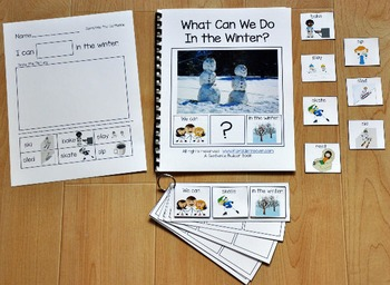 """Building Sentences--""""What Can We Do in the Winter?"""""""