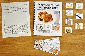 """Building Sentences--""""What Can We Eat For Breakfast?"""""""