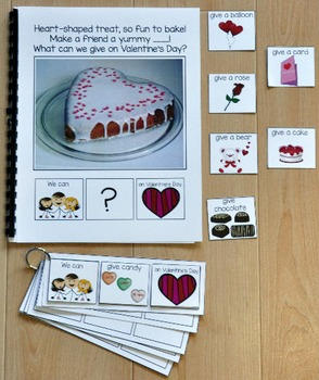 "Building Sentences--""What Can We Give On Valentine's Day?"""