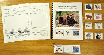 """Building Sentences--""""What Do We See At the Zoo?"""""""