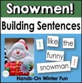 Winter Pocket Chart Sentences