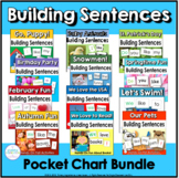 Pocket Chart Sentences Bundle
