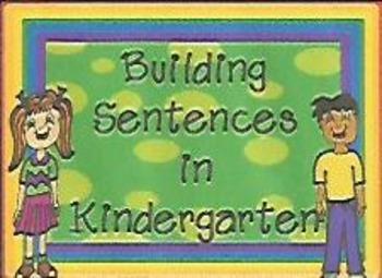 Building Sentences in Kindergarten