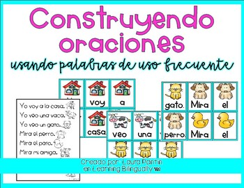 Building Sentences in Spanish (Freebie 1)