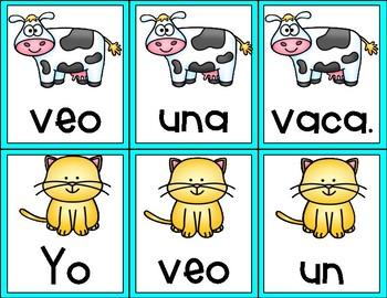 Building Sentences in Spanish (Freebie 1)