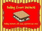Building Sentences with Adjectives, Nouns, and Verbs Liter